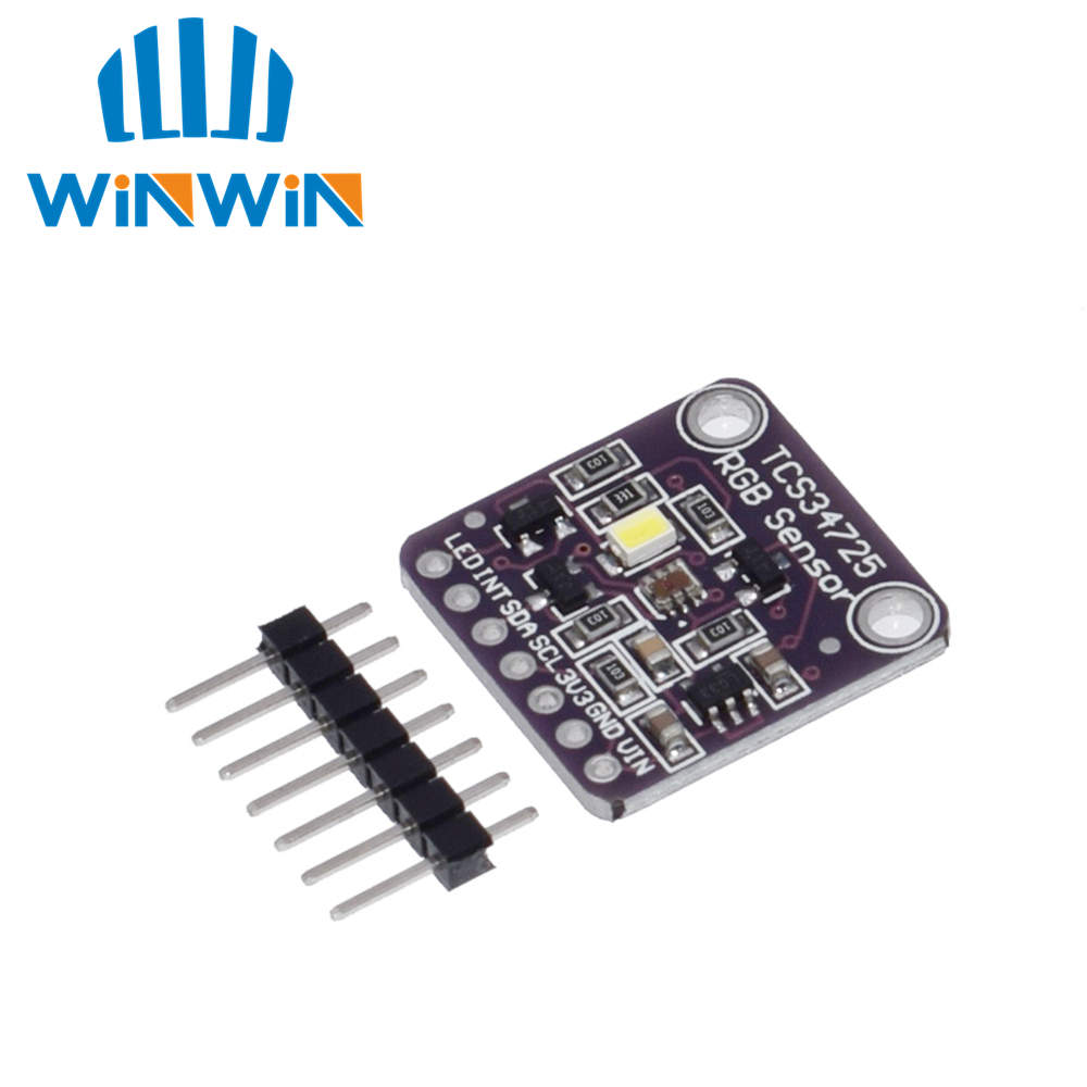 Image 2 - 10PCS CJMCU 34725 TCS34725 Color Sensor RGB color sensor development board moduleIntegrated Circuits   -