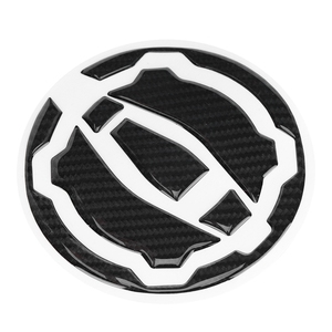 Black Carbon Fiber Motorcycle Gas Tank Cap Pad Cover Sticker Decals For KAWASAKI Z900 Z650 2017-2018 Motorcycle Accessories