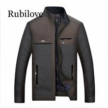 Rubilove 2019 New Design Spring Fashion Male Jacket Business Windbreak Summer Classic Streetwear Mens Travel Outwear Coat L-4XL