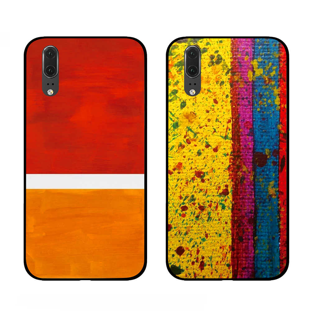 Rainbow colors For Huawei Honor V9 V10 8 9 10 8X 5A 7A 5X Play Lite TPU Phone Cases Cover