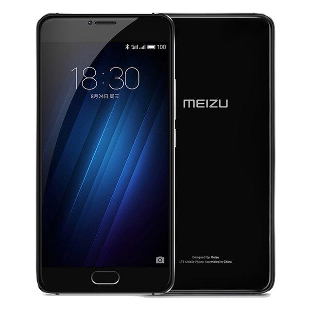 Original MEIZU U20 Telecom version ROM 3GB RAM 16GB ROM Cell Phone 5.5 inch octa-core Fast Charging Mobile Phone 2