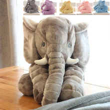 Baby Plush Doll Infant Kids Toys Elephant Soft Pillow Large