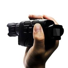 HD widzenie nocne z wykorzystaniem podczerwieni urządzenie monokularowa kamera noktowizyjna odkryty teleskop cyfrowy z dniem i nocą podwójnego zastosowania do polowania