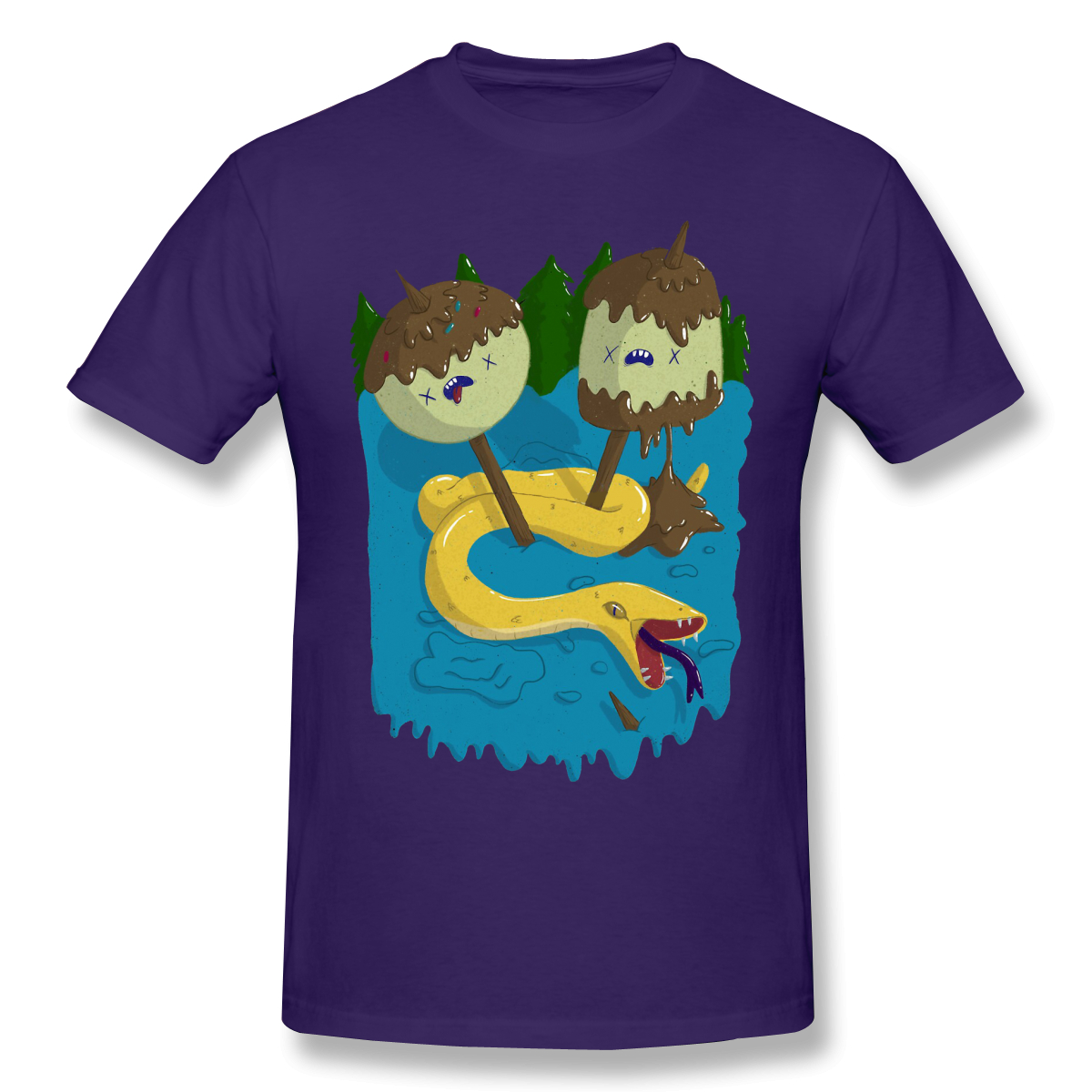 Adventure Time Men 100% Cotton T Shirt Graphic Plus Size Princess Bubblegum's Rock Oversized Tops