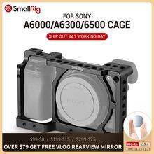 소니 A6300/소니 A6000 / Nex 7 카메라 용 SmallRig A6300 카메라 케이지 안정기 (DIY 옵션 용 신발 장착 나사 구멍 포함)