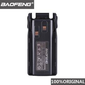 Image 1 - 100% الأصلي Baofeng UV 82 UV 8D بطارية ليثيوم أيون 2800mAh BL 8 ل اتجاهين راديو لاسلكي تخاطب UV8D UV 82 اكسسوارات Pofung UV82