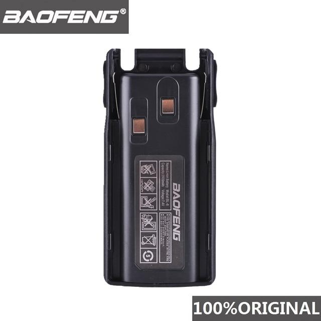 100% الأصلي Baofeng UV 82 UV 8D بطارية ليثيوم أيون 2800mAh BL 8 ل اتجاهين راديو لاسلكي تخاطب UV8D UV 82 اكسسوارات Pofung UV82