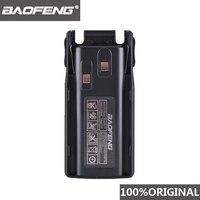 100% oryginalny Baofeng UV 82 UV 8D akumulator litowo jonowy 2800mAh BL 8 do radia dwukierunkowego Walkie Talkie UV8D UV 82 akcesoria Pofung UV82 w Części i akcesoria do krótkofalówek od Telefony komórkowe i telekomunikacja na