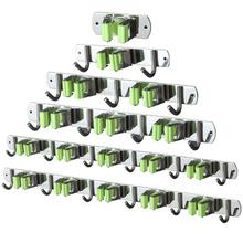 Odporny na wilgoć uchwyt na mopa kuchnia łazienka 304 mopy ze stali nierdzewnej do montażu na ścianie rozmaitości wieszak uchwyty do przechowywania stojaki tanie tanio STAINLESS STEEL mop holder Typ ścienny Pojedyncze Nie-składany stojak Other Przechowywanie posiadaczy i stojaki Ekologiczne