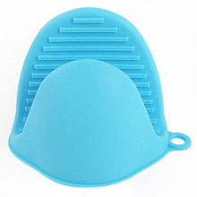 Кухонные термостойкие силиконовые крышки для рук, защитные перчатки для духовки