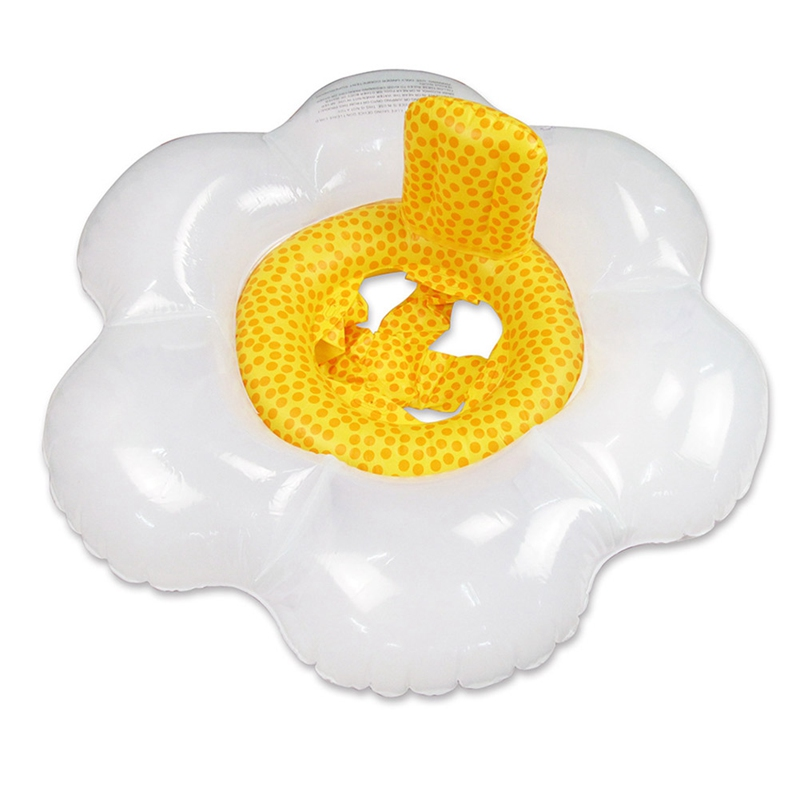 Baby Swimming Circle Seat Ring Inflatable Flower Pool Float Water Mattress Pool Party Toys Piscine For Child Accessory