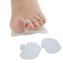 2Pcs Silicone Toe Pads Gel Forefoot Pad Feet Care High heels Half Insole Foot Metatarsal Support Z52401