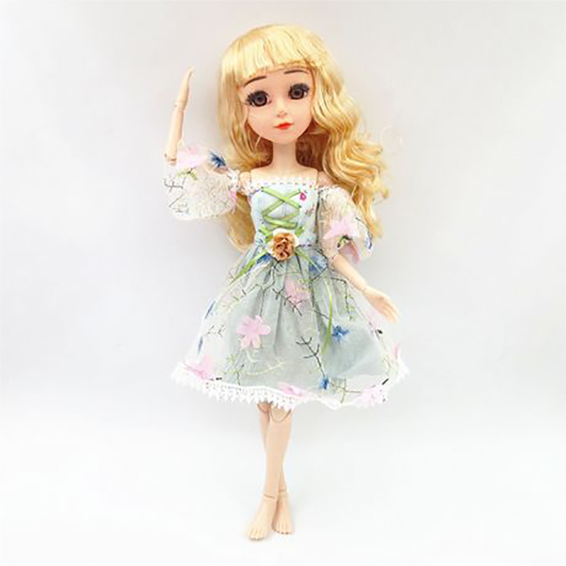 42/45cm Bjd <font><b>Doll</b></font> Changeable Princess Dress Noble Party Gown Dress Fashion Wedding Suit Accessories Toys For Girls <font><b>Doll's</b></font> Gifts image