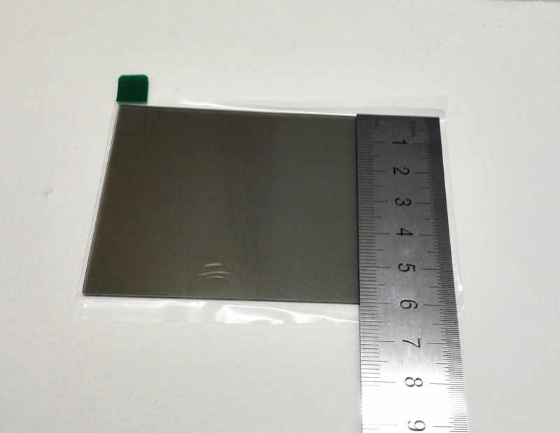 4 インチプロジェクター絶縁ガラス断熱ガラス偏光絶縁ガラス偏光子修理プロジェクター黄色カスタマイズすることができ