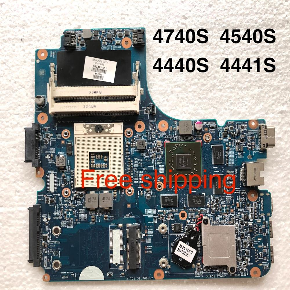 683493-0-601 For HP 4440s 4441s 4740s 4540s Laptop Motherboard 683493-601 Motherboard100%tested Fully Work