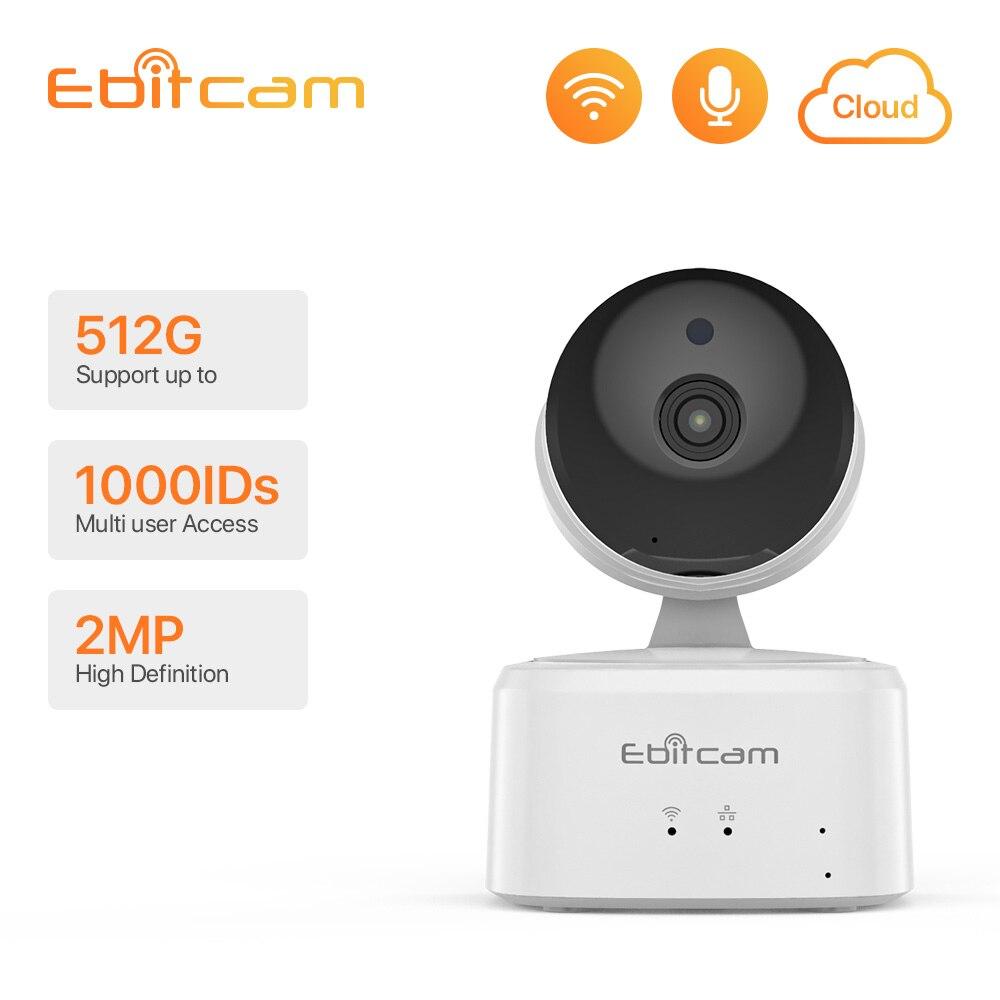 Ebitcam Cloud Computing kamera IP Wifi karta SD bardzo długa rejestracja 1080p kamera IP Wifi wewnętrzne kamery monitorujące CCTV