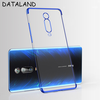 Xiaomi Redmi K20 Case Transparent Plating Soft TPU Clear back Cover For Xiaomi Mi 9T Pro Xiaomi Redmi K20 Pro Cases Phone Coque xiaomi redmi s2 case cover transparent ultra thin soft silicone silm plating edge tpu back cover for xiaomi redmis2 phone coque