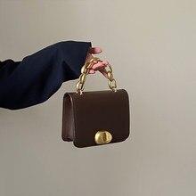 Tobo nicho design saco do mensageiro feminino 2021 nova bolsa de couro do plutônio na moda retro pequeno quadrado saco selvagem ins portátil corrente
