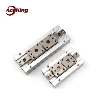 Thin air claw AceKing mhf2-8d 12D 16D 20D D1 D2 DR slide table parallel finger cylinder guide rail slide claw cylinder