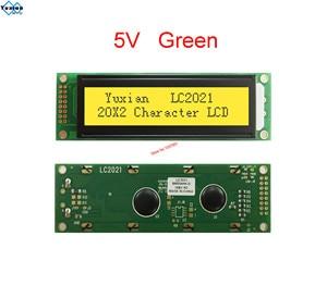 Image 5 - LCD ekran modülü 2002 20X2 mavi yeşil LC2021 yerine WH2002A AC202D LHD44780
