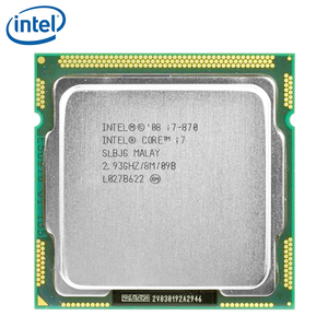 Intel Core i7-870 Quad-Core 95W i7 870 Processor 8M Cache 2.93GHz LGA 1156 Desktop CPU tested 100% working