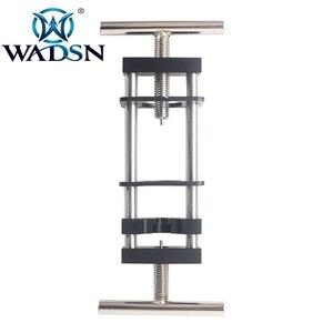 Image 1 - WADSN 戦術金属鋼モーターピニオンプーラーモーターギアをマウントツール使用インストール削除ギア Aeg エアガン狩猟アクセサリー WEX121
