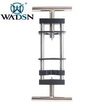 Wadsn tactical metal aço do motor pinhão extrator montar ferramenta uso instalar remover engrenagem para aeg airsoft caça acessórios wex121