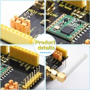 Keyestudio LoRa Беспроводная плата расширения щит RFM69HCW 868Mhz W/Антенна совместима с Arduino UNO & Leonardo & Mega & DUE Board
