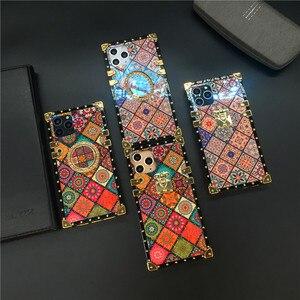 Роскошные блестящие фирменные клетчатые квадратный чехол для huawei Коврики 20 Pro 30 P30 Lite P20 Honor V30 20 8X10 Nova 5 6 3 3i Y6 Y7 чехол для телефона