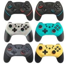 Kablosuz Bluetooth Gamepad nintendo anahtarı Pro NS-anahtarı Pro oyun joystick denetleyici konsolu için 6 eksen kolu