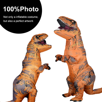 T Rex  Inflatable Costume Anime Cosplay Mascot Carnival Fantasy Halloween Costumes for women Adult Kids