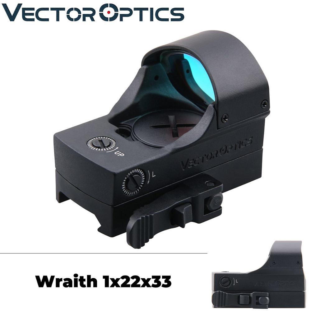 Vector Optics Wraith 1x22x33 Tactical Compact Motion Sensor Red Dot Sight Shake Awake Reflex Scope fit