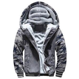 Image 2 - BOLUBAO Winter Brand Mannen Hoodies Sweatshirts Nieuwe mannen Plus Fluwelen Dikker Truien Jas Camouflage Vest Hoodie Mannelijke Kleding