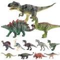 Маленькие модели динозавров 15 см, тираннозавр Юрского периода, индоминус Рекс, Трицератопс, бронтозавр, Велоцираптор, 13 видов моделей диноз...