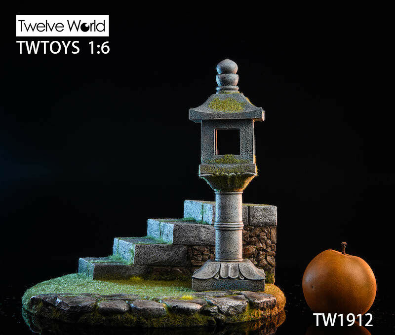 "TWTOYS 1/6 TW1912 Resin Japanese Platform Light Model F 12"" COOMODEL Figure Toys"