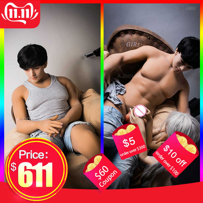 170cm Real Silicone Dolls for Gay Male Sex Doll Sex Gay Doll with Huge Penis Full Size Silicone Adult Toy for Woman