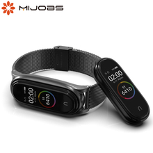 Bracelet for Mi Band 5 Strap Correa Metal for Xiaomi My Band Belt 5 Smartwatch Metal Pulseira for Mi Band Opaska 3 4 5 Wristband