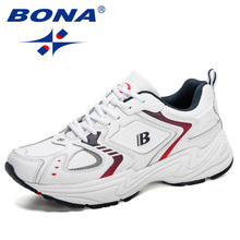 Casual Sneakers Work-Shoes BONA Homme Men Man High-Quality Luxury Desigers Brand New