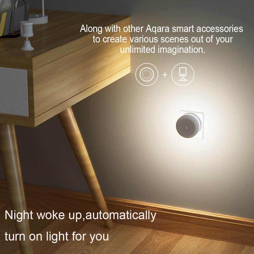 Xiaomi Aqara Hub mi ağ geçidi 2 RGB Led gece lambası akıllı ile çalışmak için Apple Homekit ve aqara App için xiaomi akıllı ev