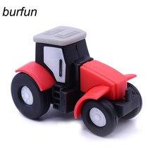 Unidad Flash Usb para Tractor, Pendrive con dibujos animados, memoria extraíble, 128gb, 64gb, 32gb, 16gb, 8gb, ofertas especiales de música montada en el coche