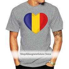 T Shirt Herz Herz Fan Flagge Fahne Rumänien Rumanien Bürokratische