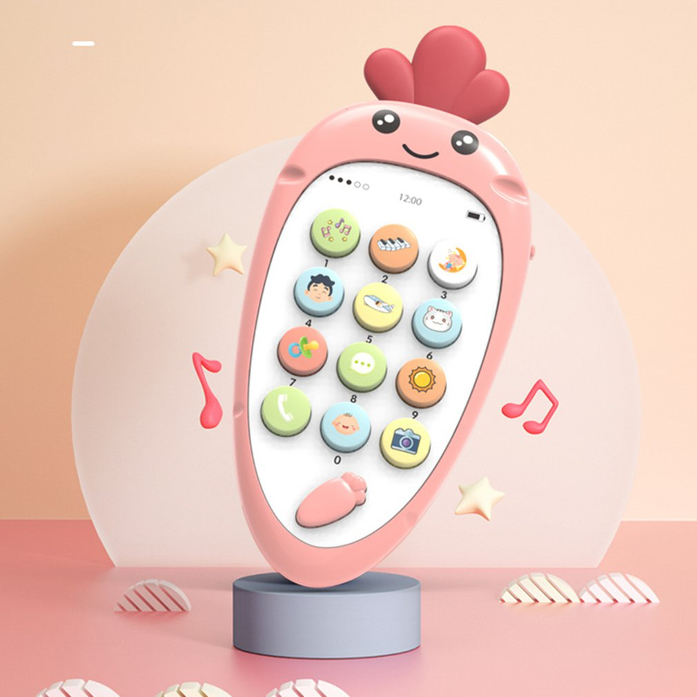 Infant Early Childhood Education Toy Mobile Phone Puzzle Simulation Children's Music Mobile Phone Early Childhood Toys