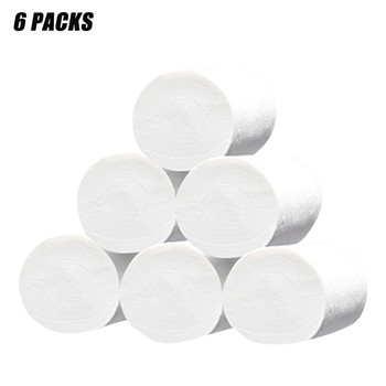 6 Rolls Paper Hand Towels Toilet Paper Toilet Roll Tissue Napkin Paper towels, soft toilet paper, white toilet paper roll toilet фото