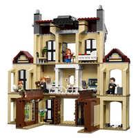 Kompatibel Legoinglys Jurassic Welt Dinosaurier Indoraptor Rampage Zu Lockwood Immobilien Baustein Spielzeug für Kinder 10928
