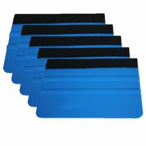 Image 1 - 5 adet keçe kenar silecek araba filmi aracı plaka çok fonksiyonlu temizlik etiket sarma araçları