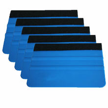 5PCS Filz Rand Rakel Auto Film Werkzeug Platte Multifunktionale Reinigung Aufkleber Wrap Werkzeuge