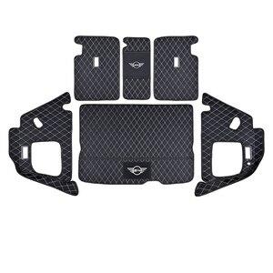 Image 5 - سيارة جذع سطح حماية وسادة من الجلد اكسسوارات السيارات التصميم لسيارات BMW MINI ONE equs JCW F54 F55 F56 F60 R60 كلوبمان كونتري مان