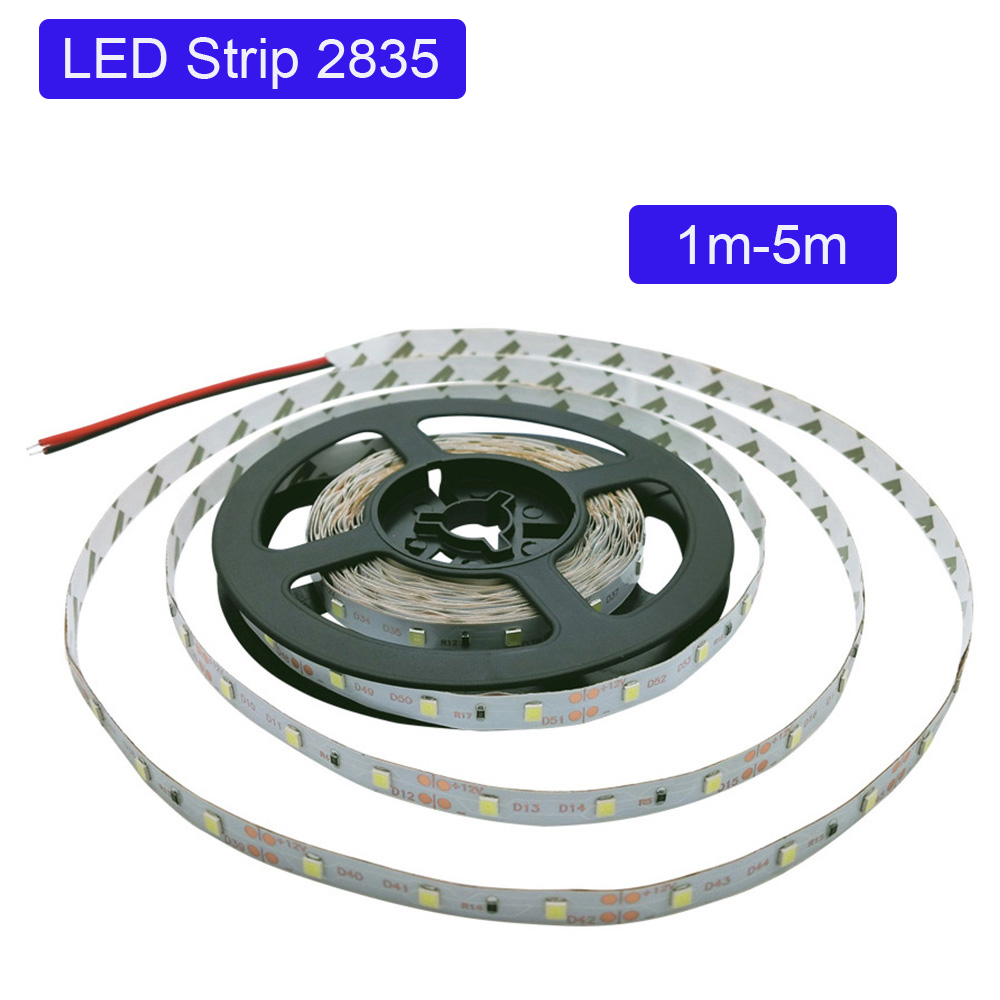 DC 12V Led Light Tape 2835 RGB 1M 2M 3M 4M 60LED/M  Led Light Strip Lamp SMD Flexible TV Backlight Led Strip