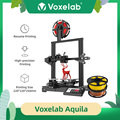 Voxelab Aquila DIY Kit 3D Printer Print Size 220*220*250 mm with Resume Printing 3d принтер For Beginners