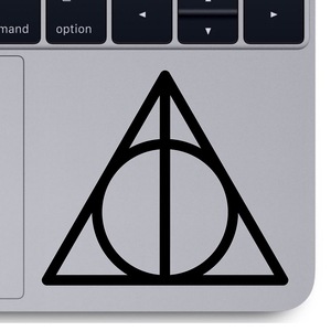 Deathly Hallows decal Magic to